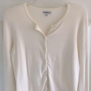 Croft & Barrow size small cream sweater